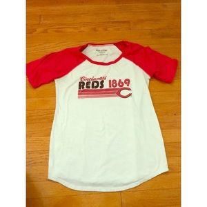 Cincinnati Reds maternity shirt